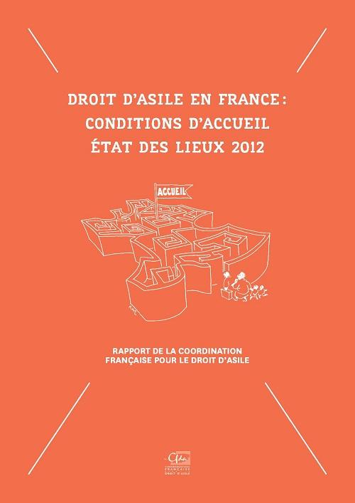 Droit d'asile en France - conditions d'accueil, état des lieux 2012 -img