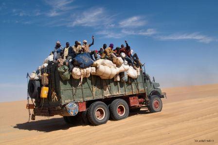 camion au Niger