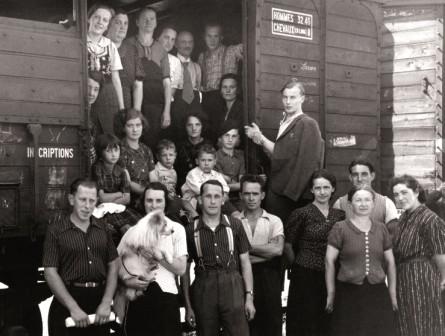 Retour de Lectoure : arrivé Montpellier - Wagon ? - 1940