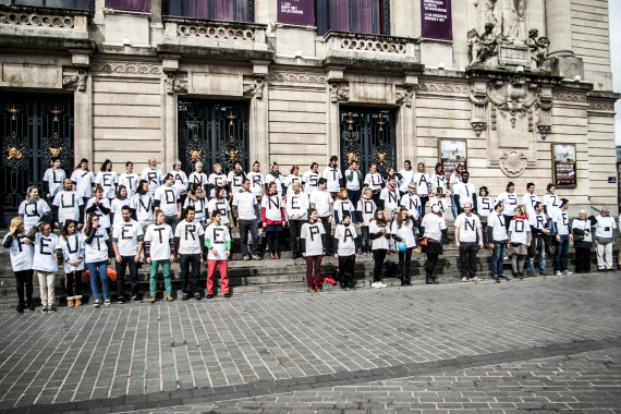 Nord Picardie opération sensibilisation à Lille mai 2014 (c) Jessica Violon