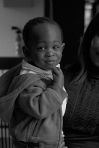 Mohamed, 1 an, mauritanien