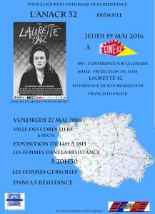 affiche femmes laurette à Auch