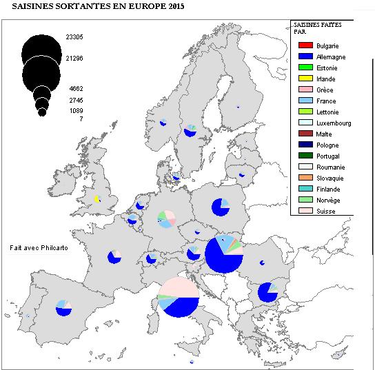 SAISINES SORTANTES EUROPE 2015
