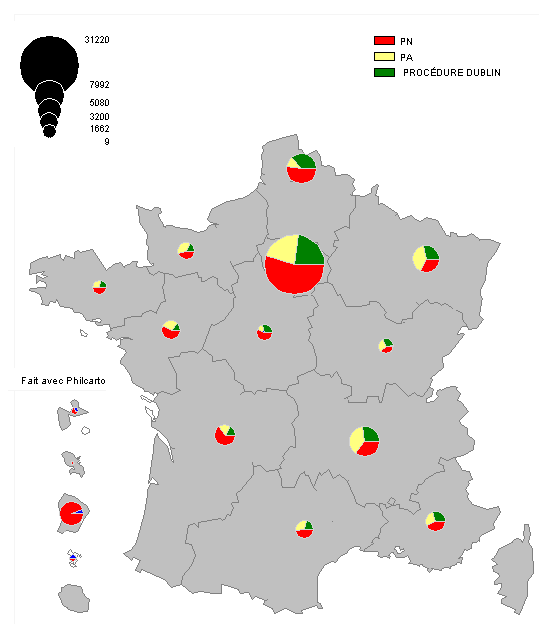 PROCEDURE OFPRA+DUB PAR REGION
