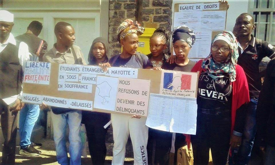 Mayotte le combat des tudiants trangers pour leur for Portent ses fruits