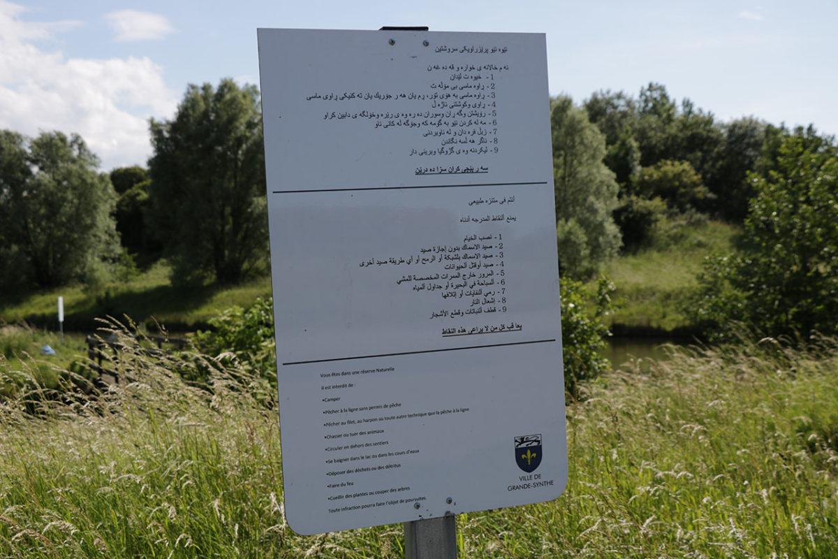L'affichage municiapl en trois langues en contradiction avec la