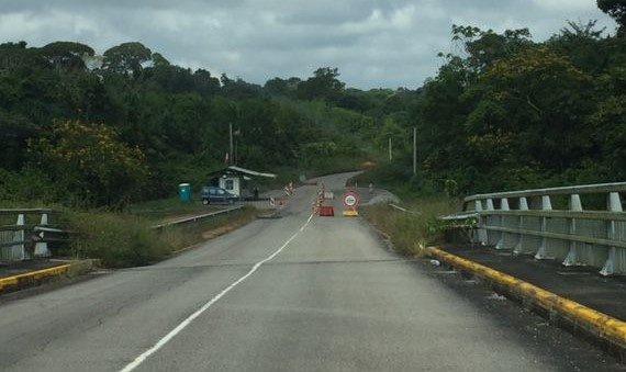 barrage routier Guyane