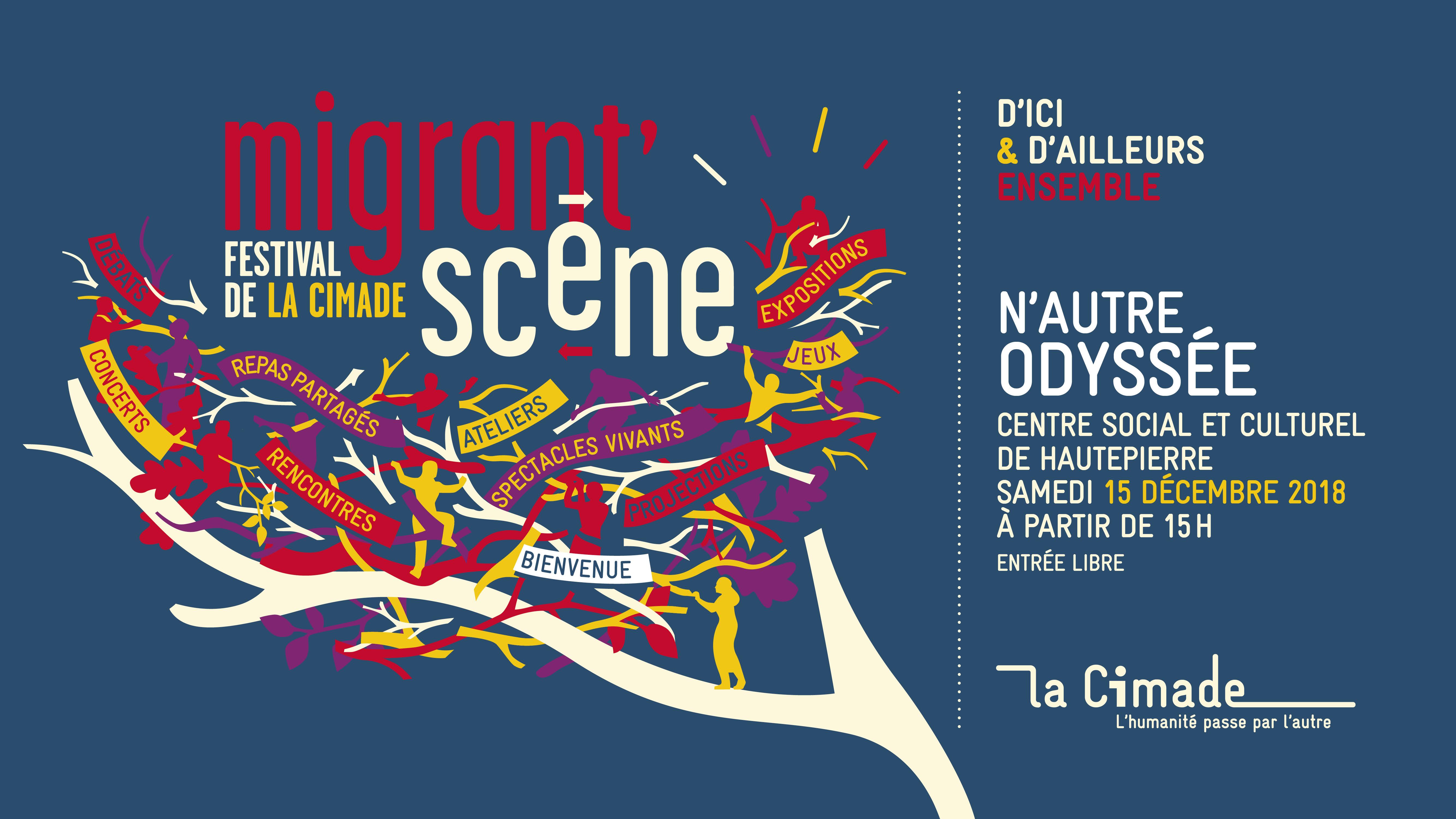 N'autre odyssée, Festival Migrant'scène 2018 à Strasbourg