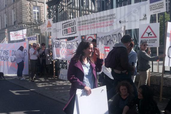 mobilisation charter georgiens bretagne