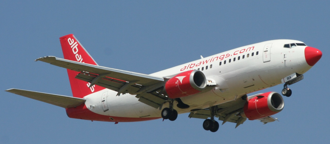charter avion Albanie