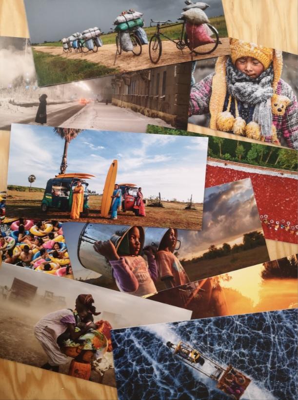 Cadeau militant et solidaire : série de 10 cartes de correspondances 2021 de La Cimade