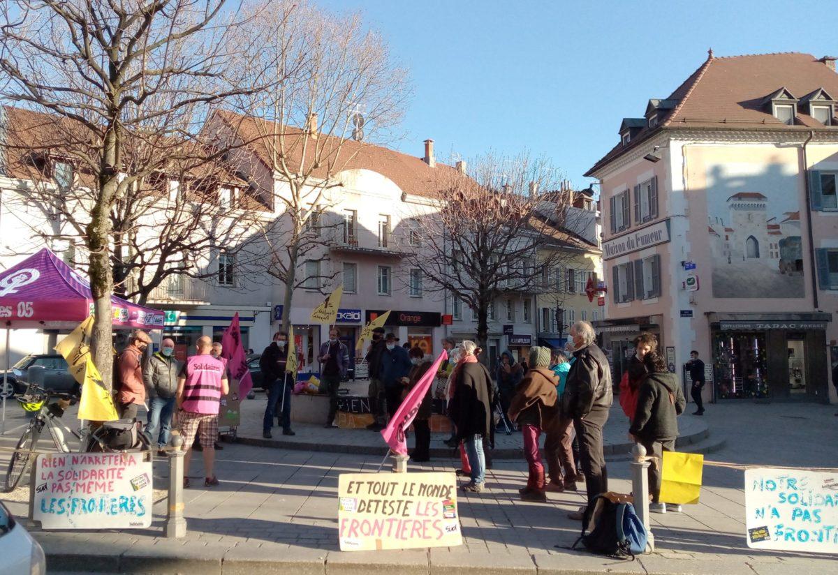 Dimanche 21 mars à Gap, manifestation