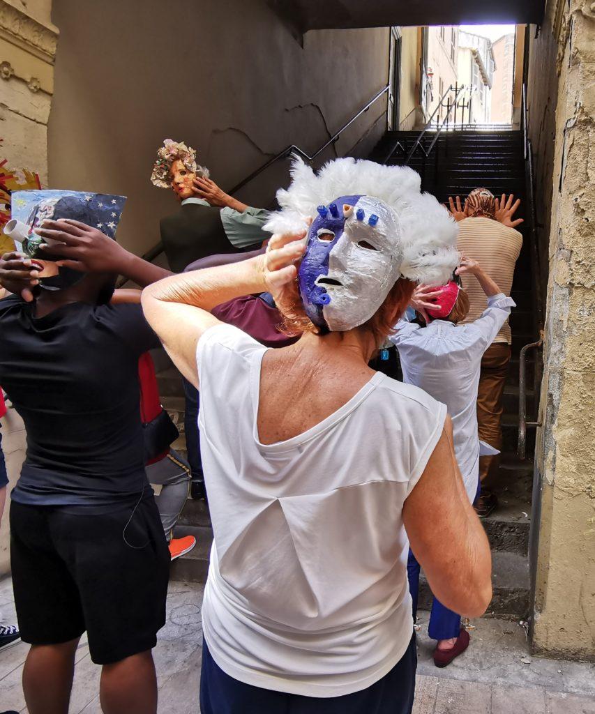 Passage de Lorette, Marseille, La mascarolle, 21 juin 21