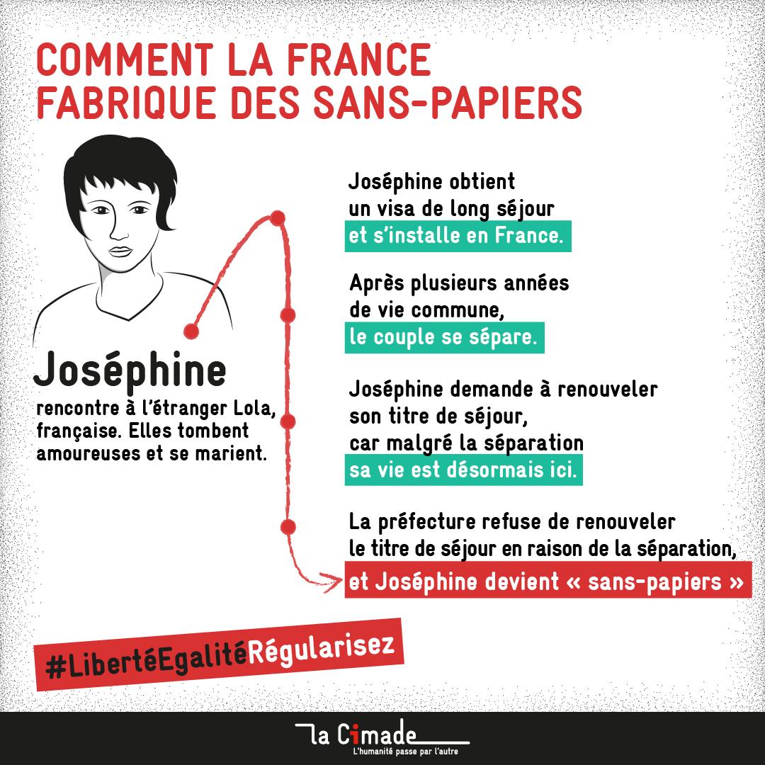 Comment la France fabrique des sans-papiers_Josephine